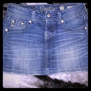 Miss Me Jean Skirt Size 25